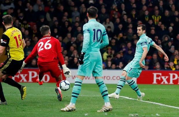 Thắng nhọc Watford, Arsenal chen chân vào Top 4 Premier League - ảnh 3