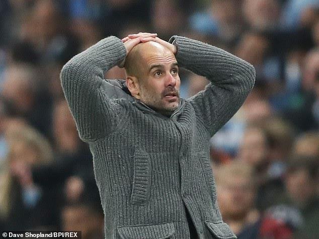 HLV Pep Guardiola cay cú với bàn thua khiến Man. City bị loại - ảnh 1