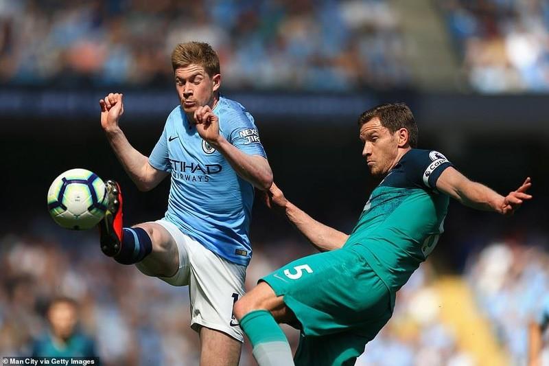 Đánh bại Tottenham, Man. City đòi lại ngôi đầu - ảnh 3