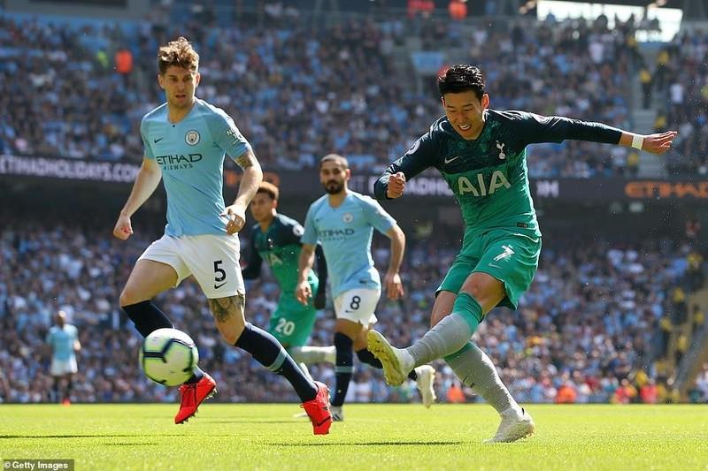 Đánh bại Tottenham, Man. City đòi lại ngôi đầu - ảnh 2