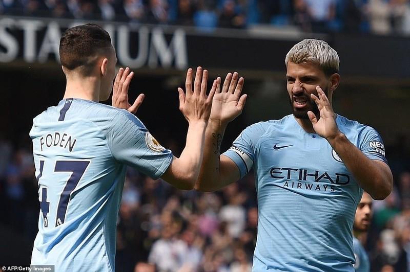 Đánh bại Tottenham, Man. City đòi lại ngôi đầu - ảnh 6