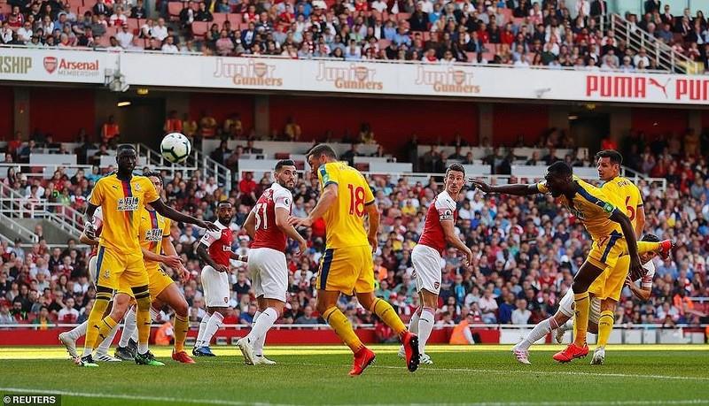 Arsenal thua sốc Crystal Palace ngay tại Emirates - ảnh 5