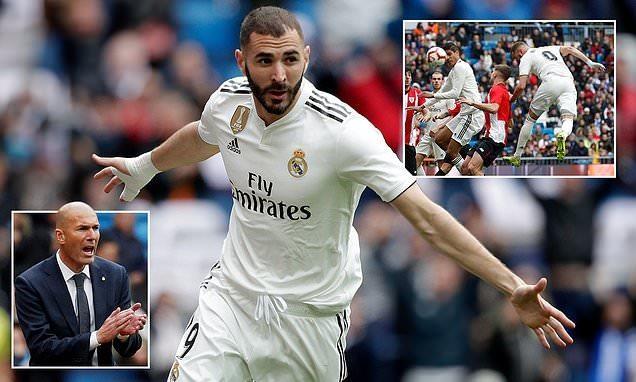 Benzema, Mbappe cùng lập hat-trick, Real thắng, PSG vô địch - ảnh 1