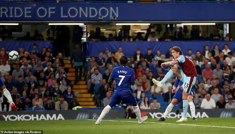 Bị Burnley 'níu chân', Chelsea bỏ lỡ cơ hội vàng - ảnh 1