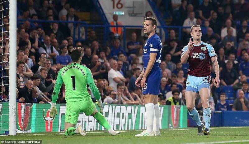 Bị Burnley 'níu chân', Chelsea bỏ lỡ cơ hội vàng - ảnh 5