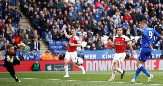 Thua nặng Leicester, Arsenal rời xa Top 4 Premier League - ảnh 7