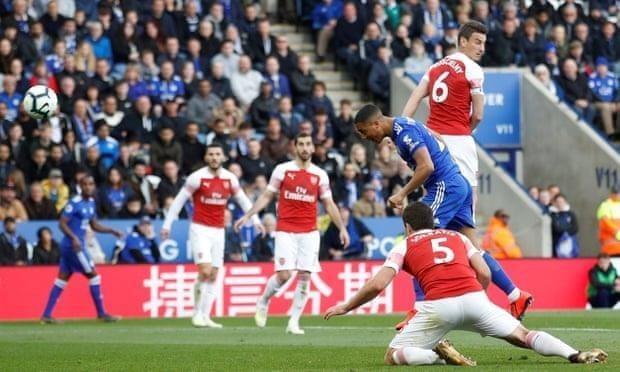 Thua nặng Leicester, Arsenal rời xa Top 4 Premier League - ảnh 5