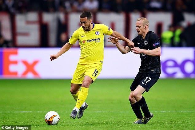 Vào chung kết Europa League, Chelsea sẵn sàng để Hazard ra đi - ảnh 1