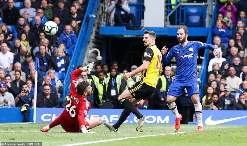 Hiệp hai bùng nổ, Chelsea đánh bại Watford vượt mặt Tottenham - ảnh 4