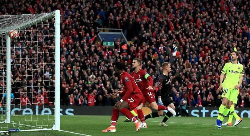 Liverpool không Salah đánh bại Barca không tưởng vào chung kết - ảnh 1