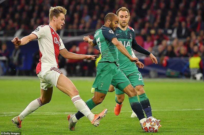 Moura lập hat-trick, Tottenham ngược dòng khó tin loại Ajax - ảnh 3