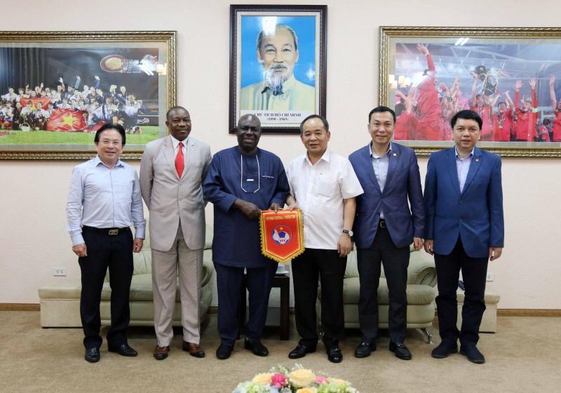 Bóng đá Việt Nam sắp được đá giao hữu với nhà vô địch Olympic - ảnh 1