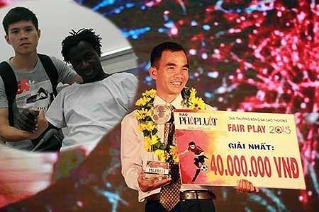 Cầu thủ nước ngoài đầu tiên đăng quang Fair Play bóng đá Việt - ảnh 1