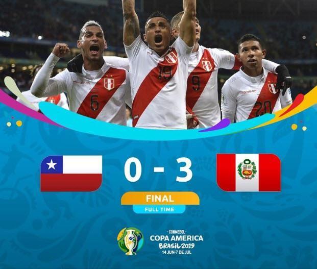 Thắng 'hủy diệt' ĐKVĐ Chile, Peru vào chung kết Copa America - ảnh 4