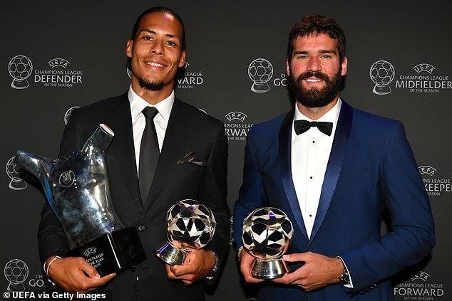 Van Dijk, Messi được vinh danh, Ronaldo trắng tay - ảnh 3