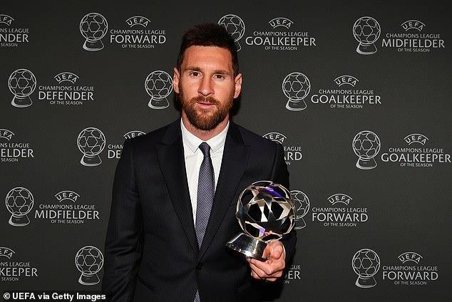 Van Dijk, Messi được vinh danh, Ronaldo trắng tay - ảnh 5