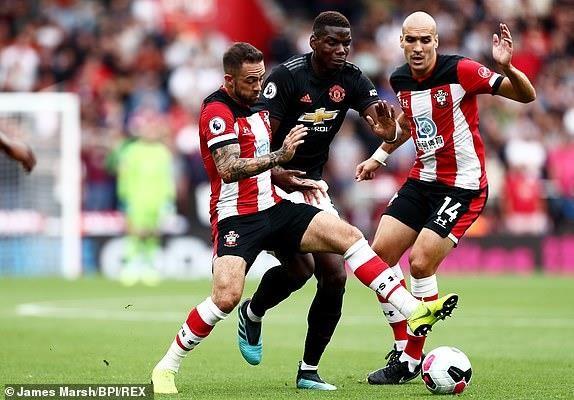 Bị Southampton níu chân, MU không thắng 3 trận liền - ảnh 1