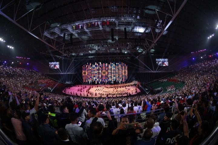 Lễ khai mạc SEA Games 30 nhiều màu sắc, ngập tràn cảm xúc - ảnh 24
