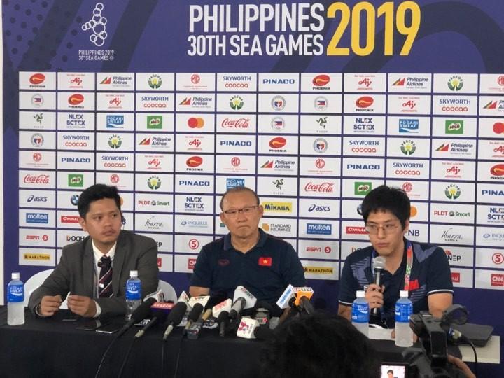 HLV Park Hang-seo: U-22 Việt Nam sẽ không bao giờ đầu hàng - ảnh 1