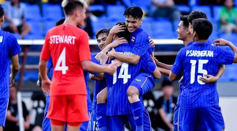Đức Chinh ghi bàn thắng vàng, U22 Việt Nam thắng khó Singapore - ảnh 38