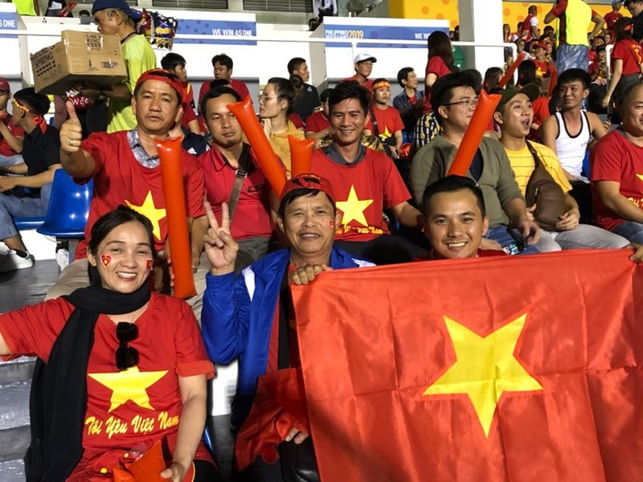 Đức Chinh ghi bàn thắng vàng, U22 Việt Nam thắng khó Singapore - ảnh 29
