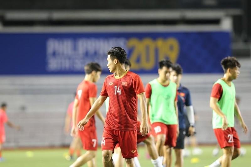 Đức Chinh ghi bàn thắng vàng, U22 Việt Nam thắng khó Singapore - ảnh 19