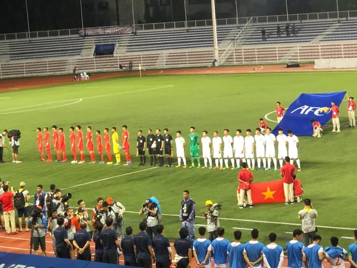 Đức Chinh ghi bàn thắng vàng, U22 Việt Nam thắng khó Singapore - ảnh 17