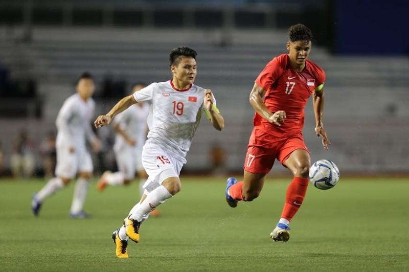 Đức Chinh ghi bàn thắng vàng, U22 Việt Nam thắng khó Singapore - ảnh 15