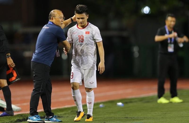 Đức Chinh ghi bàn thắng vàng, U22 Việt Nam thắng khó Singapore - ảnh 14