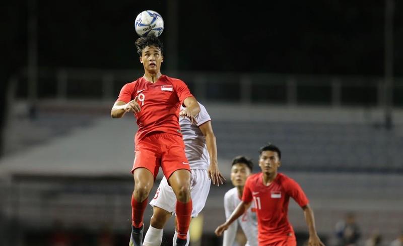 Đức Chinh ghi bàn thắng vàng, U22 Việt Nam thắng khó Singapore - ảnh 13