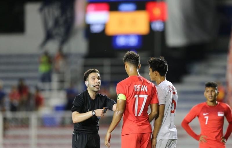 Đức Chinh ghi bàn thắng vàng, U22 Việt Nam thắng khó Singapore - ảnh 7