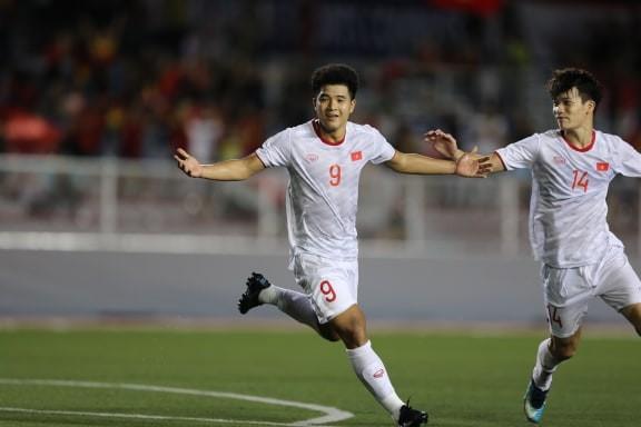 Đức Chinh ghi bàn thắng vàng, U22 Việt Nam thắng khó Singapore - ảnh 3