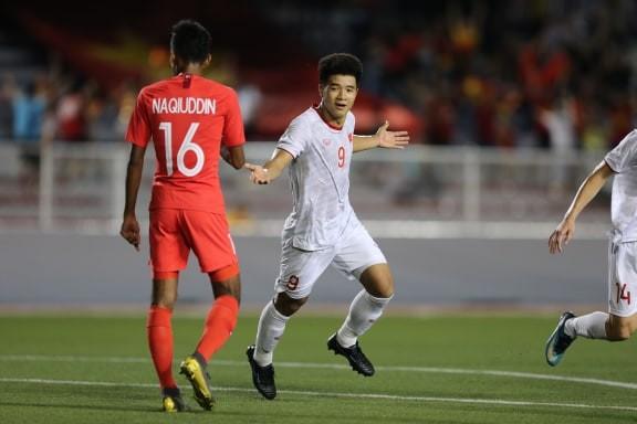 Đức Chinh ghi bàn thắng vàng, U22 Việt Nam thắng khó Singapore - ảnh 5