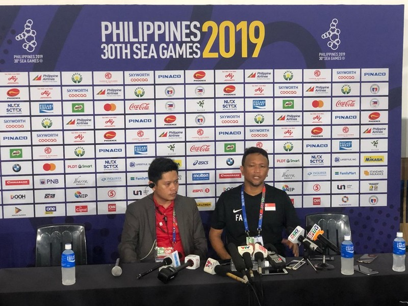 HLV U-22 Singapore nói gì sau trận thua U-22 Việt Nam? - ảnh 1