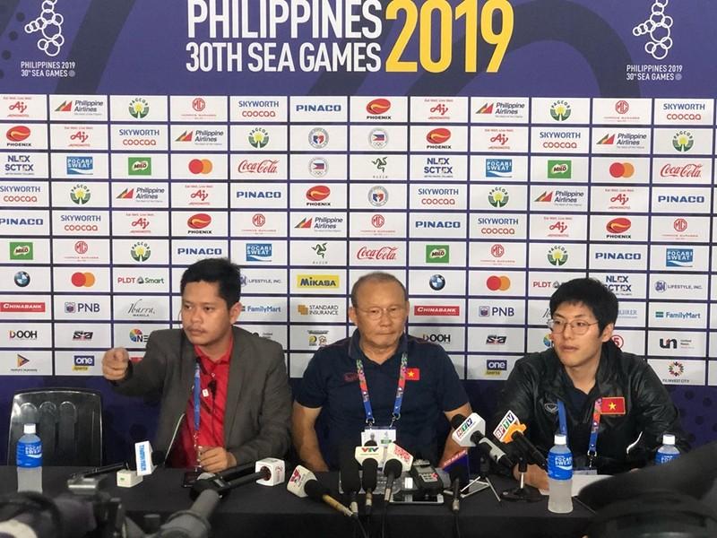 Thầy Park: 'U-22 Việt Nam hãy quên trận thắng này đi...' - ảnh 1