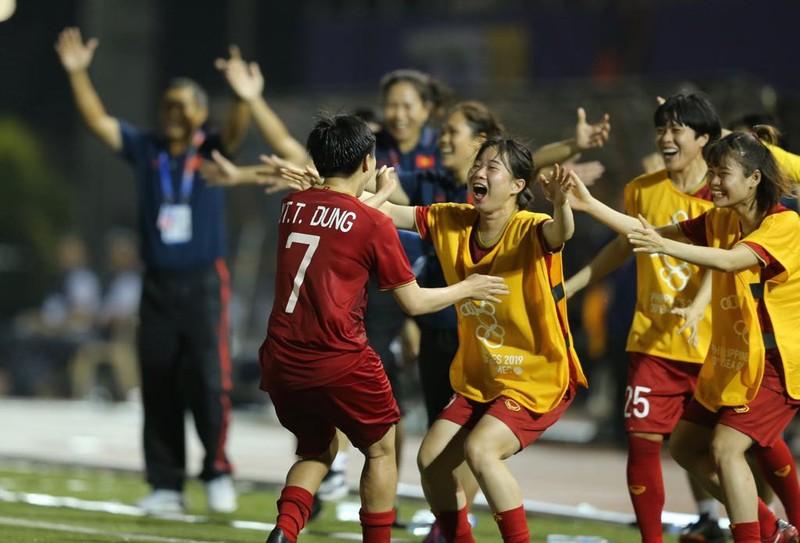 Hạ chủ nhà Philippines, nữ Việt Nam vào chung kết SEA Games 30 - ảnh 3