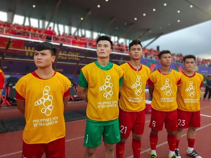 Tiến Linh lập cú đúp, U-22 Việt Nam bay vào bán kết SEA Games - ảnh 9