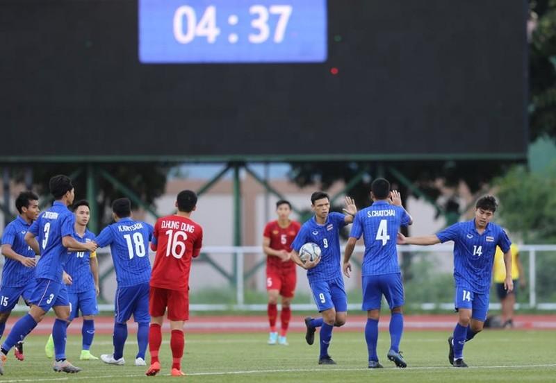 Tiến Linh lập cú đúp, U-22 Việt Nam bay vào bán kết SEA Games - ảnh 12