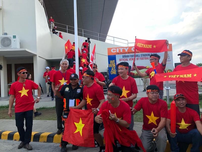 Tiến Linh lập cú đúp, U-22 Việt Nam bay vào bán kết SEA Games - ảnh 31