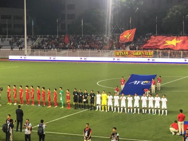 Thắng dễ Campuchia, Việt Nam vào chung kết tái đấu Indonesia - ảnh 18