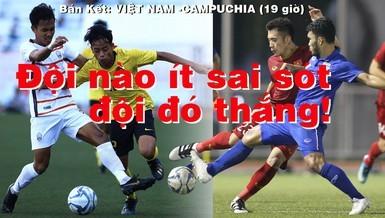Thắng dễ Campuchia, Việt Nam vào chung kết tái đấu Indonesia - ảnh 31