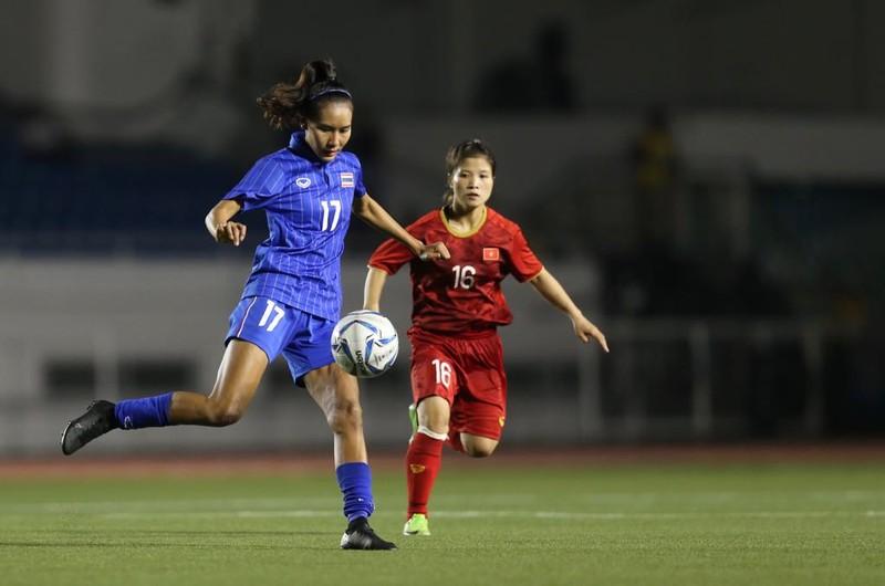 Chùm ảnh tuyển nữ Việt Nam giành HCV SEA Games đầy cảm xúc - ảnh 4
