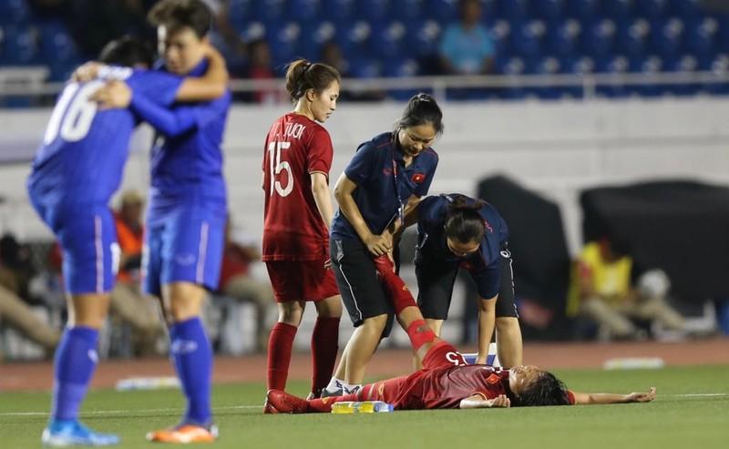 Chùm ảnh tuyển nữ Việt Nam giành HCV SEA Games đầy cảm xúc - ảnh 5