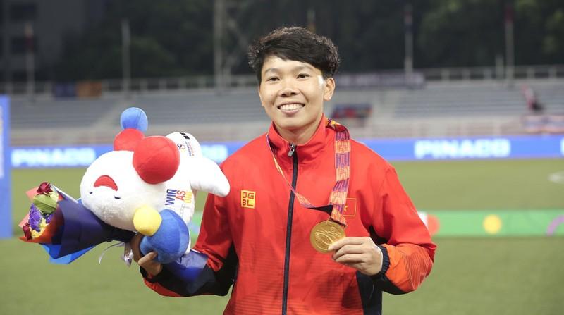Chùm ảnh tuyển nữ Việt Nam giành HCV SEA Games đầy cảm xúc - ảnh 22