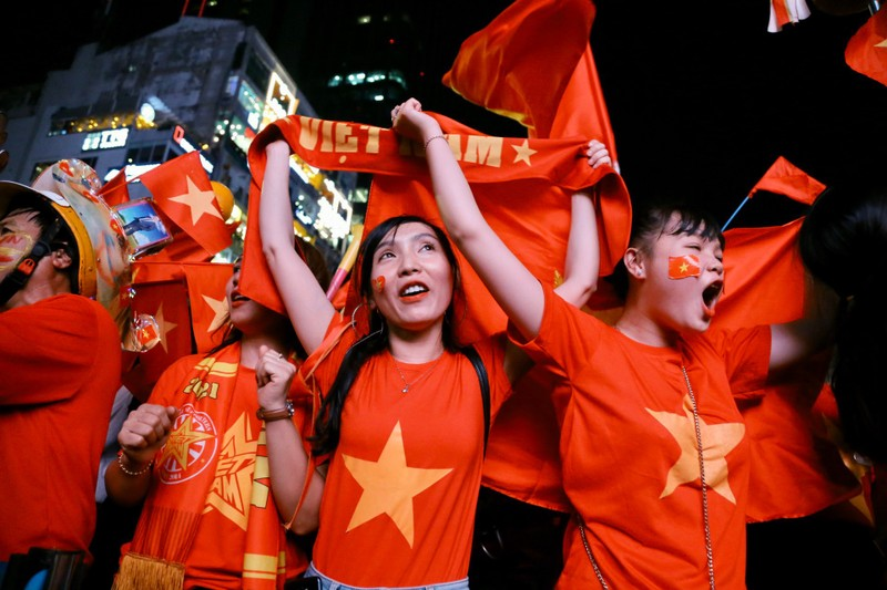 Hạ Indonesia 3-0, U-22 Việt Nam giành HCV SEA Games lịch sử - ảnh 7