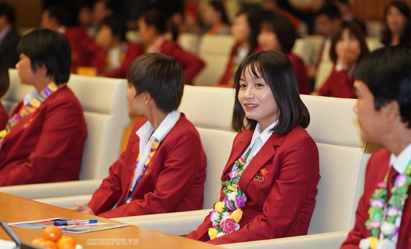 Hai đội tuyển VN dự lễ mừng công của Thủ tướng - ảnh 5