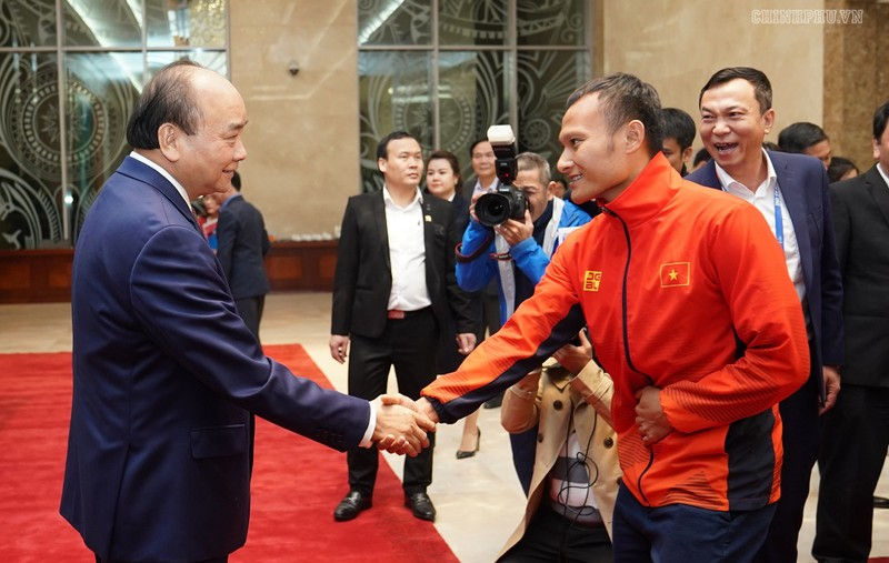 Hai đội tuyển VN dự lễ mừng công của Thủ tướng - ảnh 3