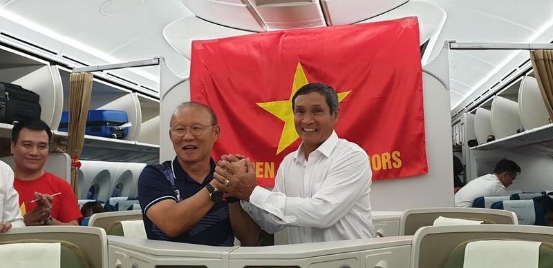 Hai đội tuyển VN dự lễ mừng công của Thủ tướng - ảnh 71