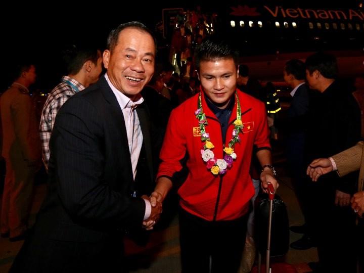 Hai đội tuyển VN dự lễ mừng công của Thủ tướng - ảnh 10