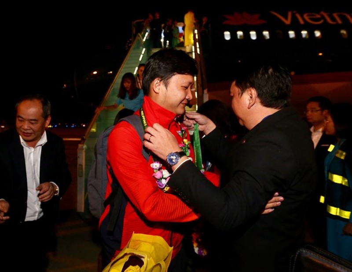 Hai đội tuyển VN dự lễ mừng công của Thủ tướng - ảnh 11